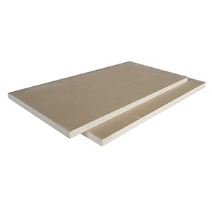 British Gypsum Gyproc Plank Grey Plasterboard 19mm Tapered Edge 2400mm x 600mm