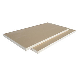 British Gypsum Gyproc Soundbloc Moisture Resistant Plasterboard 12.5mm Tapered Edge 2700mm x 1200mm