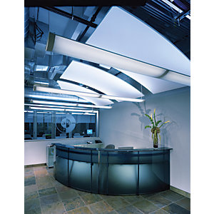 Armstrong Optima L Canopy Ceiling Tile White 1200mm x 40mm