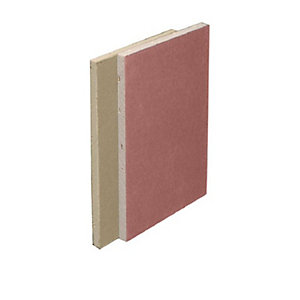 British Gypsum Gyproc Fireline Plasterboard 12.5mm Tapered Edge 1200mm