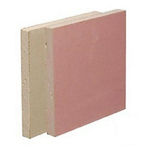 British Gypsum Gyproc Fireline Plasterboard 15mm Tapered Edge 1200mm