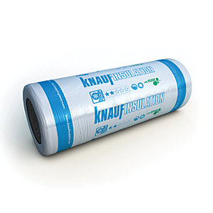 Knauf Earthwool Combi Cut 44 100mm Loft Roll Insulation 1140mm x 7280mm