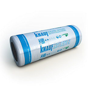 Knauf Earthwool Combi Cut 44 100mm Loft Roll Insulation 12180 mm x 1140mm