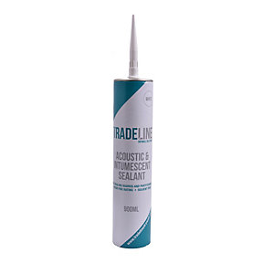 Tradeline 2 in 1 White Acoustic and Intumescent Sealant (900 ml)