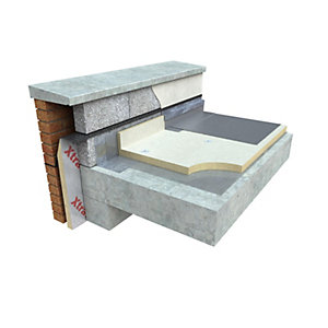 Xtratherm FR/BGM Flat Roof Insulation 1200mm x 600mm x 150mm
