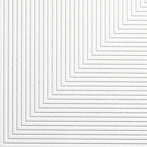 Armstrong Graphis Microlook Diagonal Ceiling Tile White 600mm x 600mm x 17mm 9222m
