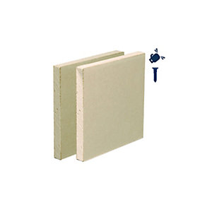 British Gypsum Gyproc Habito Plasterboard 12.5mm Tapered Edge 3000mm x 1200mm