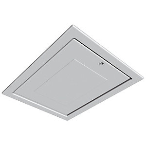 Manthorpe GL250 Drop Down Loft Access Door White to Fit 562mm x 726mm