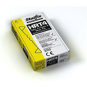 Staifix HRT4 Type 4/TYPE A Housing Tie 200mm Box 250