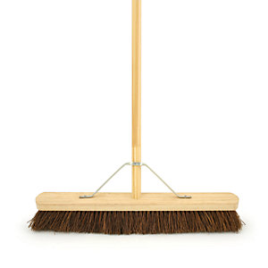 4Trade Bassine Broom With Metal Support Bracket 1371mm