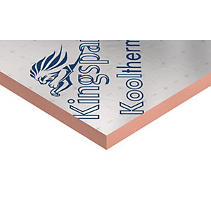Kingspan Kooltherm K108 Phenolic Cavity Insulation Board 1200mm x 450mm