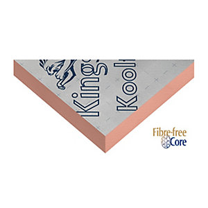 Kingspan Kooltherm K15 Rainscreen Insulation Board 2400mm x 1200mm