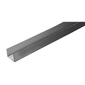 British Gypsum Gypframe Floor and Ceiling Channel 2400mm x 45mm