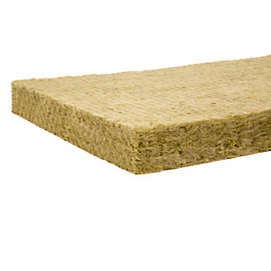 Rockwool RW3 Insulation Slab 100mm x 1200mm x 600mm