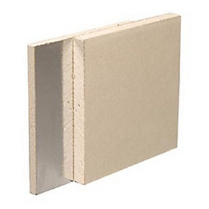 British Gypsum Gyproc Duplex 12.5mm Tapered Edge Plasterboard 2400mm x 1200mm