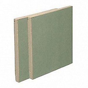 British Gypsum Gyproc Moisture Resistant 12.5mm Tapered Edge Plasterboard 2400mm x 1200mm