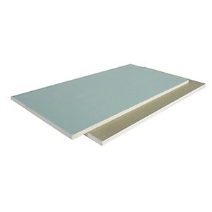 British Gypsum Gyproc Moisture Resistant 15mm Tapered Edge Plasterboard 2400mm x 1200mm
