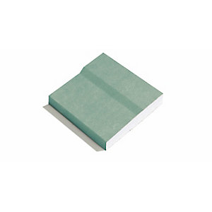 GTEC Moisture Board Plasterboard 12.5mm Tapered Edge 3000mm x 1200mm