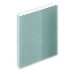 Knauf Moisture Panel Plasterboard Tapered Edge 12.5mm 3000mm x 1200mm