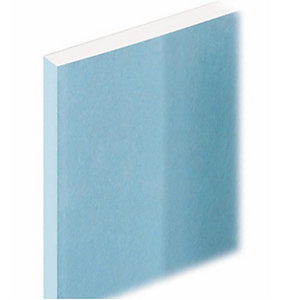 Knauf Moisture Panel Plasterboard Tapered Edge 15mm 2400mm x 1200mm