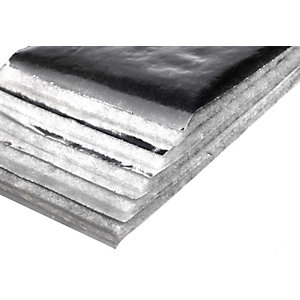 TLX Multifoil Pitched Roof Insulation Silver 10000mm x 1200mm x 30mm