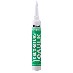 4TRADE Geocel Contractors Decorating Caulk White 380ml