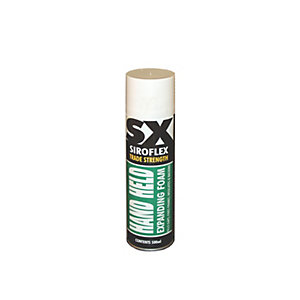 SX Trade Strength Hand Held Expanding Foam 500ml
