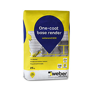 Weber.Rend One Coat Render (Ocr) Grade 1 25kg OCR1/25