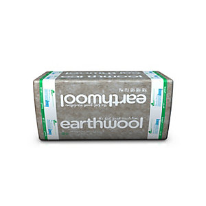 Knauf Earthwool Rocksilk Flexible Slab 60mm x 400mm x 1200mm