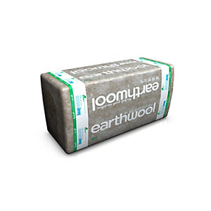Knauf Earthwool Rocksilk Flexible Slab Insulation 100mm 1200mm x 600mm