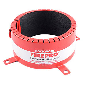 Rockwool Intumescent Fire Collar 110mm