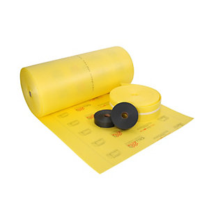 Cellecta Yelofon System Pack HD10 Including Edge Strip and Jointing Tape (50m2 / Roll)