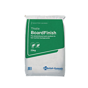 British Gypsum Thistle BoardFinish Plaster 25kg