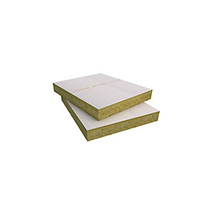 ROCKWOOL Hardrock Dual Density Roof Board Plain 1200mm x 1000mm