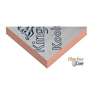 Kingspan Kooltherm K15 Rainscreen Board 2400mm x 1200mm x 35mm