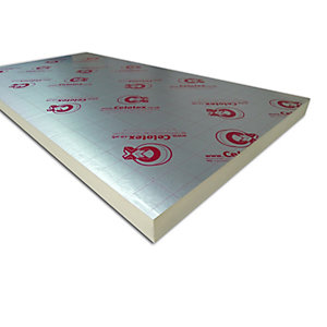 Celotex Insulation GA4100 Board 100mm 2400mm x 1200mm