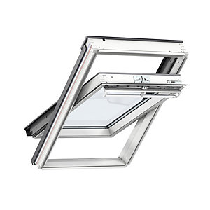 Velux Centre Pivot Roof Window 1340 x 1400mm White Painted GGL UK08 2070