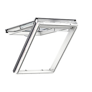Velux Top Hung Roof Window 1340 x 1600mm White Polyurethane GPU UK08 0070