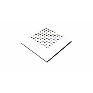 GTEC Pregybel C10 Perforated Plasterboard number 8 12.5mm Square Edge 2400mm x 1200mm