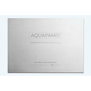 Knauf Aquapanel Exterior Cement Board 12.5mm 2400mm x 900mm