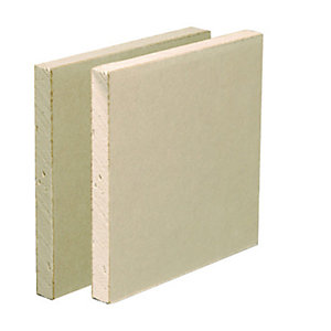 British Gypsum Gyproc Plasterboard 15mm Straight Edge 2400mm x 900mm