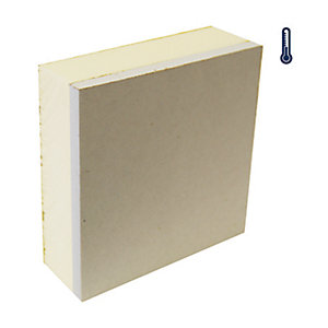 British Gypsum Gyproc Thermaline PIR 38mm Tapered Edge  2400mm x 1200mm