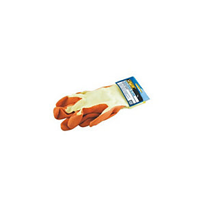 4TRADE Super Grip Gloves Orange  Pair