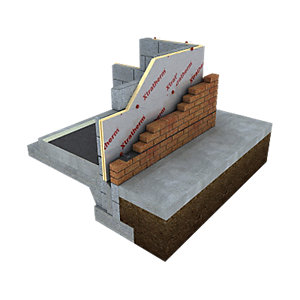 Xtratherm XT/CW Partial Fill Cavity Wall Board Square Edge 1200mm x 450mm